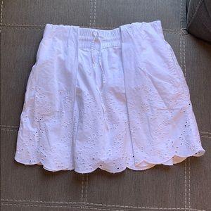 Zara Trafaluc white cute skirt